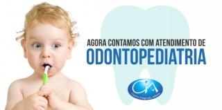 CIA agora conta com atendimento de  Odontopediatria