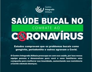 Dentistas alertam para a importância dos cuidados preventivos em saúde bucal para evitar o agravamento dos sintomas da Covid-19.